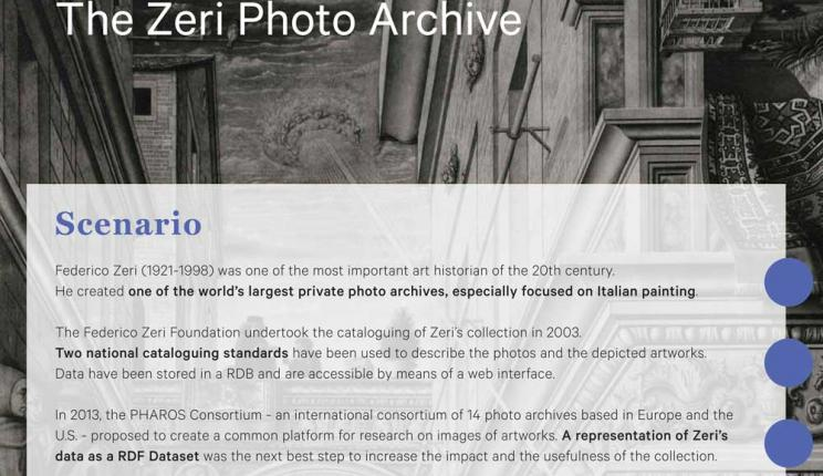 Fondazione Zeri publishes catalog in Linked Open Data