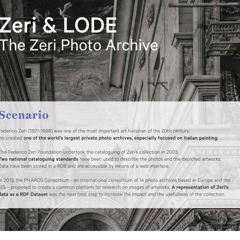 Fondazione Zeri publishes catalog in Linked Open Data